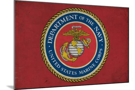 Department of the Marine Corps - Military - Insignia-Lantern Press-Mounted Art Print