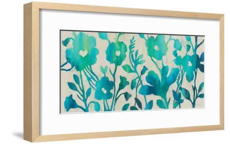 Teal Trio I-Silvia Vassileva-Framed Art Print