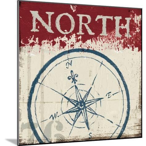 Nautical I Red-Jim Wellington-Mounted Premium Giclee Print