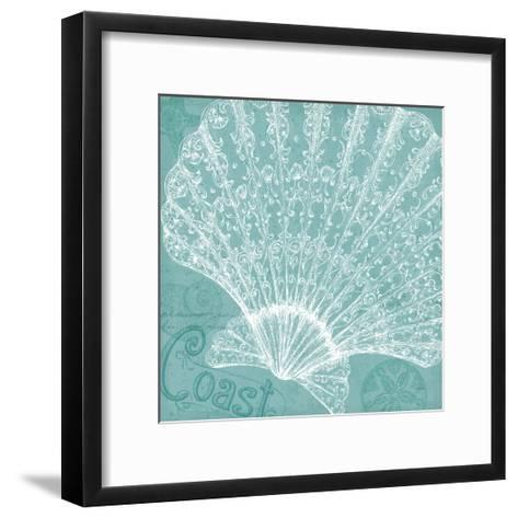 Aqua Treasure III-Daphne Brissonnet-Framed Art Print