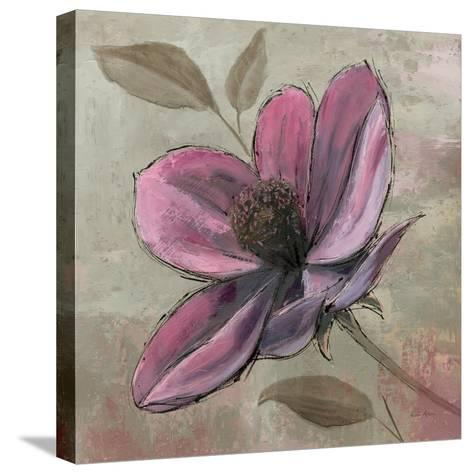 Plum Floral III-Emily Adams-Stretched Canvas Print