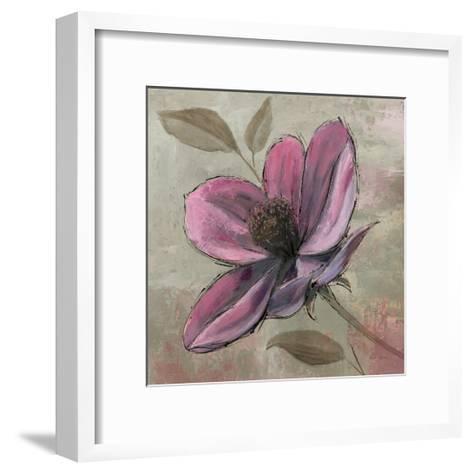 Plum Floral III-Emily Adams-Framed Art Print