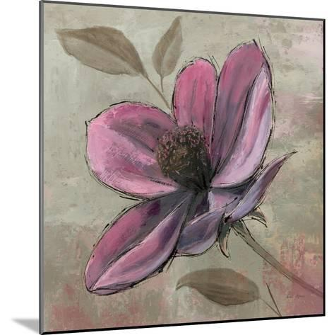 Plum Floral III-Emily Adams-Mounted Premium Giclee Print