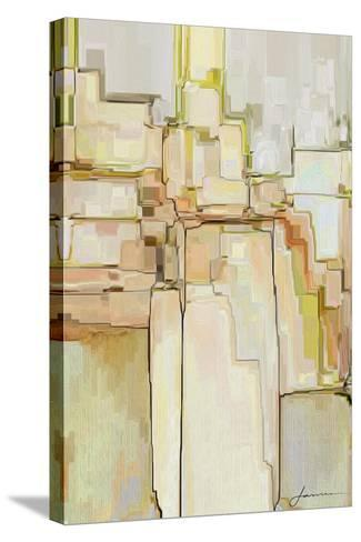 Cliff Dwellers II-James Burghardt-Stretched Canvas Print
