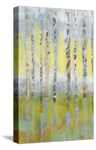 Birchline Collage I-Jennifer Goldberger-Stretched Canvas Print