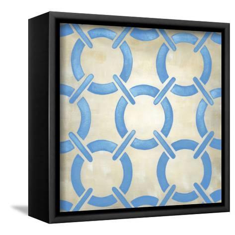 Classical Symmetry XI-Chariklia Zarris-Framed Canvas Print