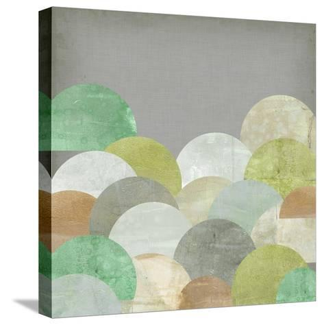 Scalloped Landscape II-Jennifer Goldberger-Stretched Canvas Print