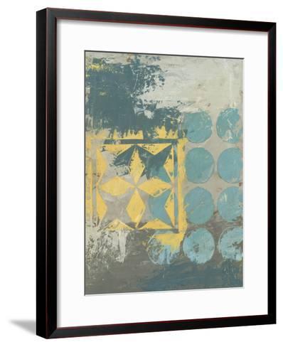 Dots and Stars I-Megan Meagher-Framed Art Print