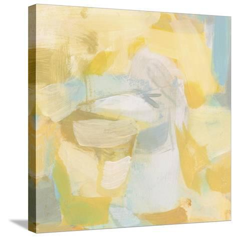 Golden Rose-Christina Long-Stretched Canvas Print