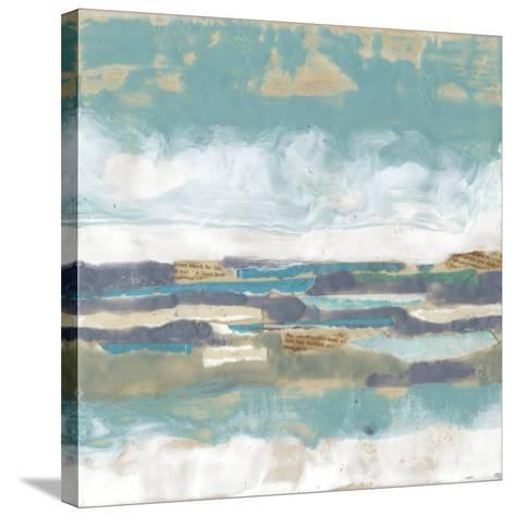Letters from the Sea I-Jennifer Goldberger-Stretched Canvas Print