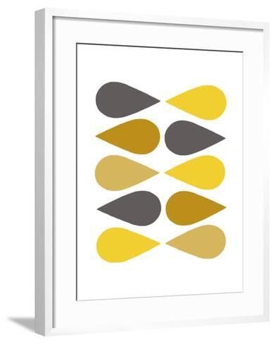 Raindrops I-Chariklia Zarris-Framed Art Print