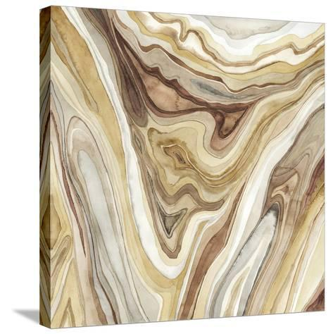 Watercolor Agate I-Megan Meagher-Stretched Canvas Print