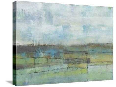 Tiered Farmland I-Jennifer Goldberger-Stretched Canvas Print