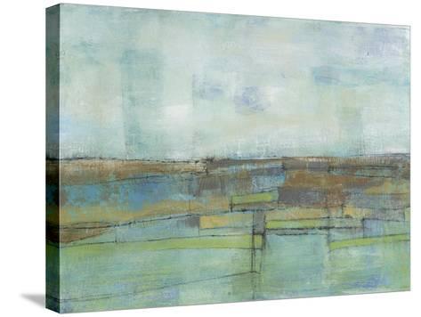 Tiered Farmland II-Jennifer Goldberger-Stretched Canvas Print
