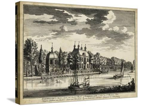 Views of Amsterdam VI-Nicolaus Visher-Stretched Canvas Print