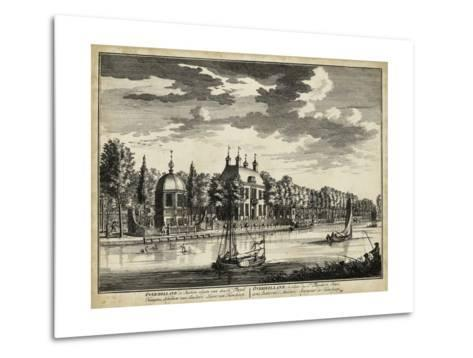 Views of Amsterdam VI-Nicolaus Visher-Metal Print