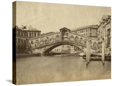 Venice-Giacomo Brogi-Stretched Canvas Print