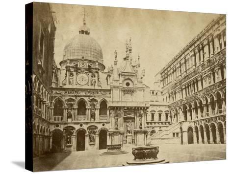 Doge's Palace-Giacomo Brogi-Stretched Canvas Print