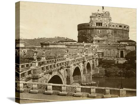 Caste of St. Angelo-Giacomo Brogi-Stretched Canvas Print