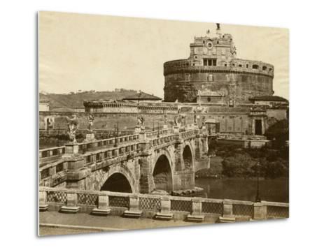 Caste of St. Angelo-Giacomo Brogi-Metal Print