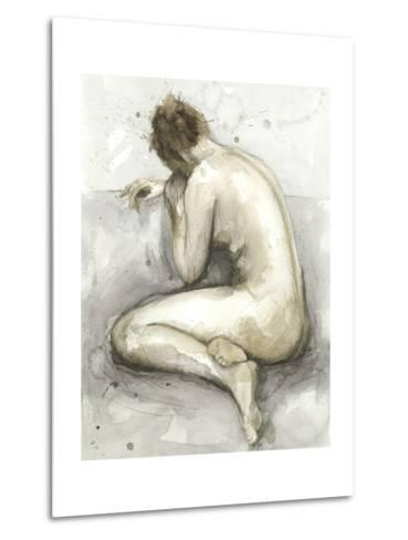 Figure in Watercolor II-Megan Meagher-Metal Print