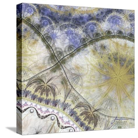 Bedouin Map I-James Burghardt-Stretched Canvas Print