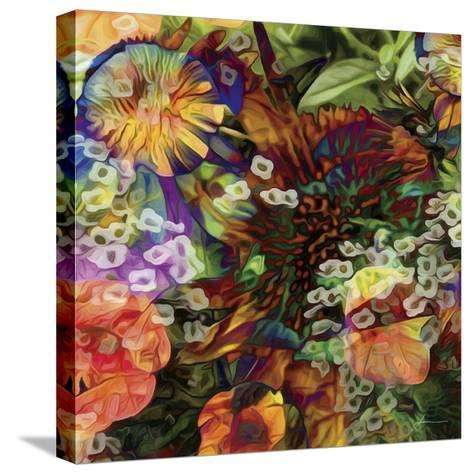 Embellished Eden Tile I-James Burghardt-Stretched Canvas Print