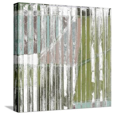 Linear Mix I-Jennifer Goldberger-Stretched Canvas Print