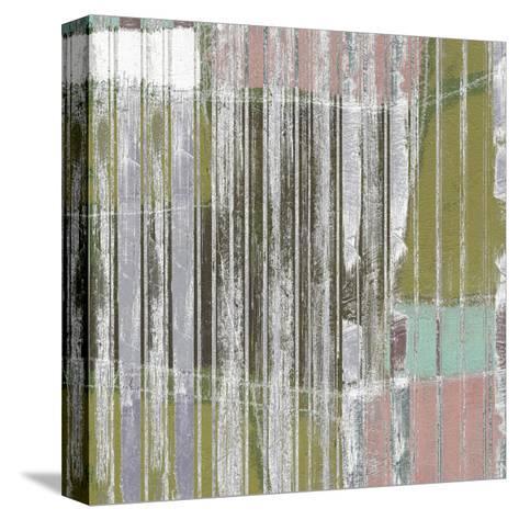 Linear Mix III-Jennifer Goldberger-Stretched Canvas Print