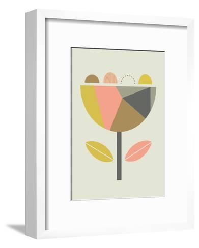Scandi Flower-Little Design Haus-Framed Art Print