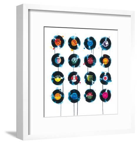 45rpm-James Paterson-Framed Art Print