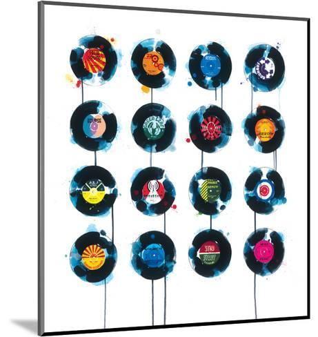 45rpm-James Paterson-Mounted Giclee Print