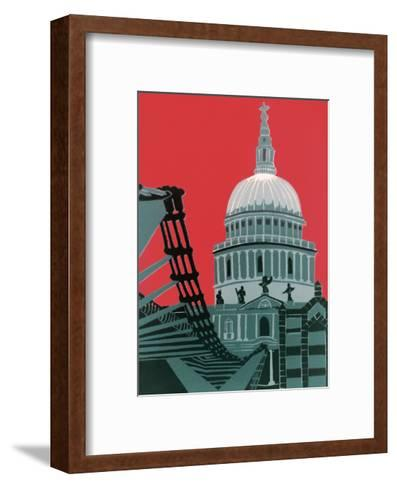 St Paul's Cathedral-Jennie Ing-Framed Art Print