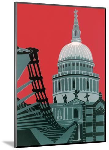 St Paul's Cathedral-Jennie Ing-Mounted Giclee Print