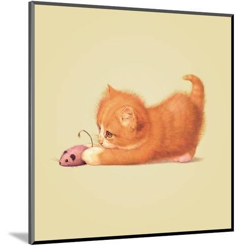 Cat-John Butler Art-Mounted Giclee Print