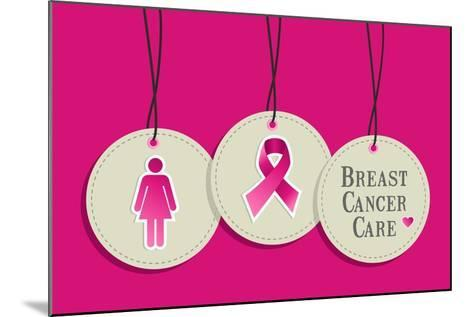 Breast Cancer Care-cienpies-Mounted Art Print