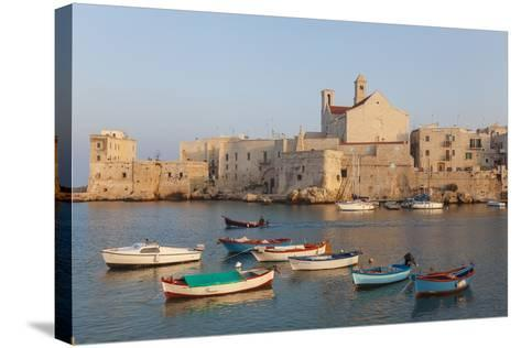 Harbour, Giovinazzo, Puglia, Italy-Peter Adams-Stretched Canvas Print
