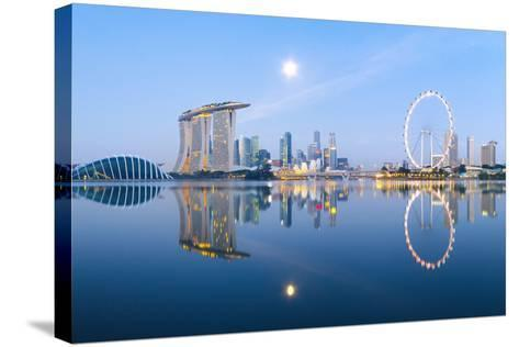 Morning Blues-Hak Liang Goh-Stretched Canvas Print