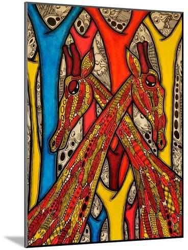 Lovers, 2013-Muktair Oladoja-Mounted Giclee Print