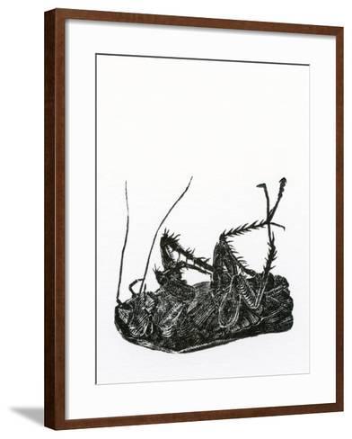 Dead Cockroach, 2014-Bella Larsson-Framed Art Print