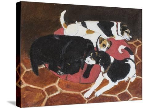 No More Room, 2005-Margaret Hartnett-Stretched Canvas Print