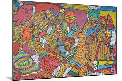 Festival, 2014-Muktair Oladoja-Mounted Giclee Print