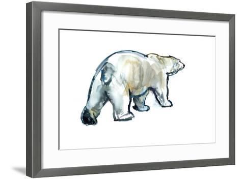 Glacier Mint (Polar Bear), 2013-Mark Adlington-Framed Art Print