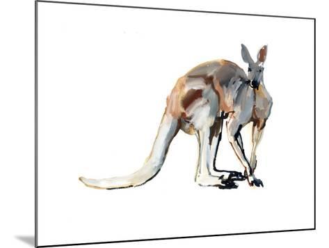 Roo, (Red Kangaroo), 2012-Mark Adlington-Mounted Giclee Print
