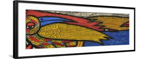 Courting Birds-Muktair Oladoja-Framed Art Print