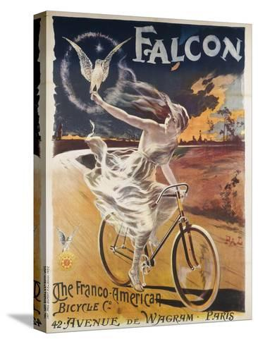 Falcon, the Franco-American Bicycle Co--Stretched Canvas Print