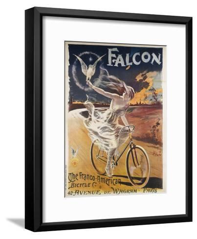 Falcon, the Franco-American Bicycle Co--Framed Art Print