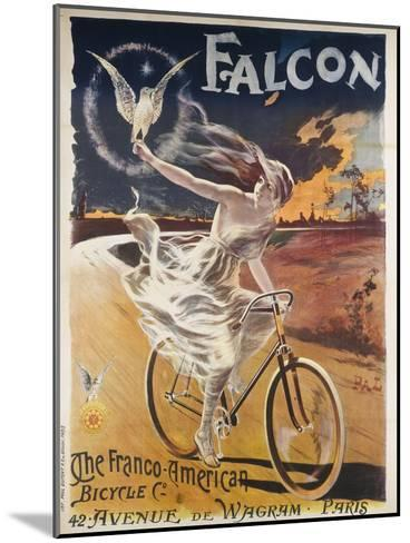 Falcon, the Franco-American Bicycle Co--Mounted Giclee Print