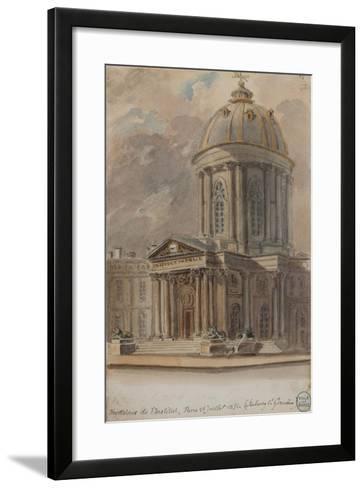 Parisian Fountains-Jean-Marie Amelin-Framed Art Print