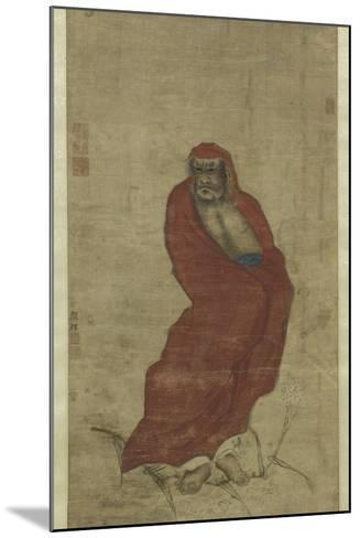 Bodhidharma Crossing the Yangzi-Hui Yan-Mounted Giclee Print